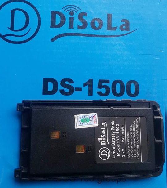 Pin Máy Bộ Đàm Disola DS 1500