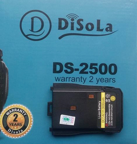 Pin Máy Bộ Đàm Disola DS 2500