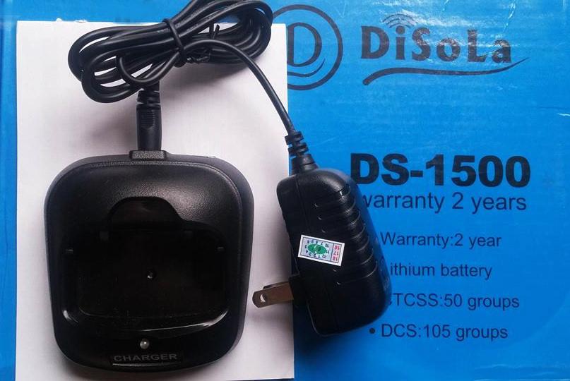 Sạc Pin Máy Bộ Đàm Disola DS 1500