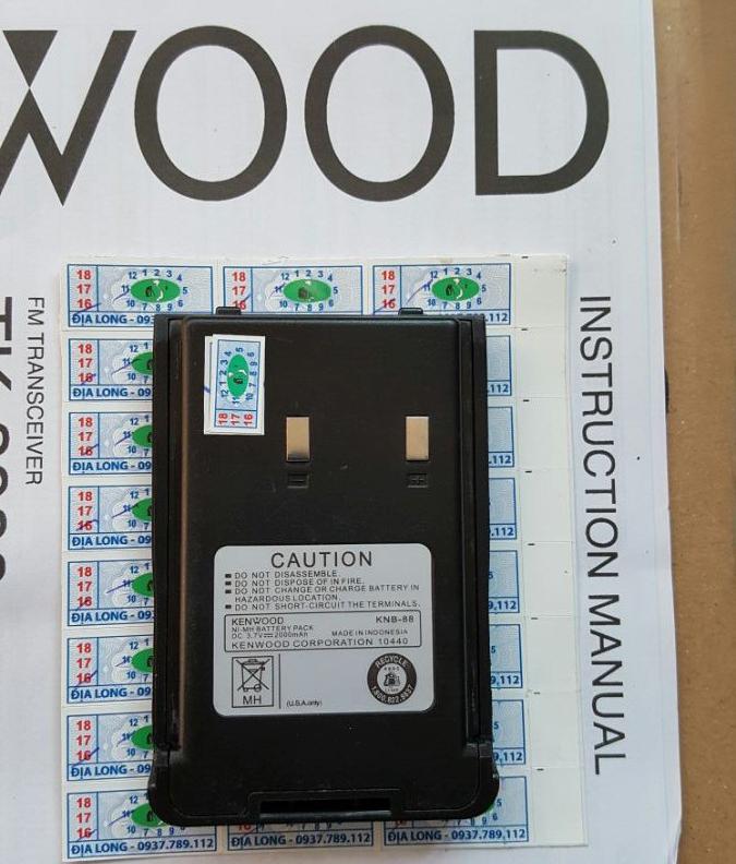 Pin Máy Bộ Đàm Kenwood KNB- 88
