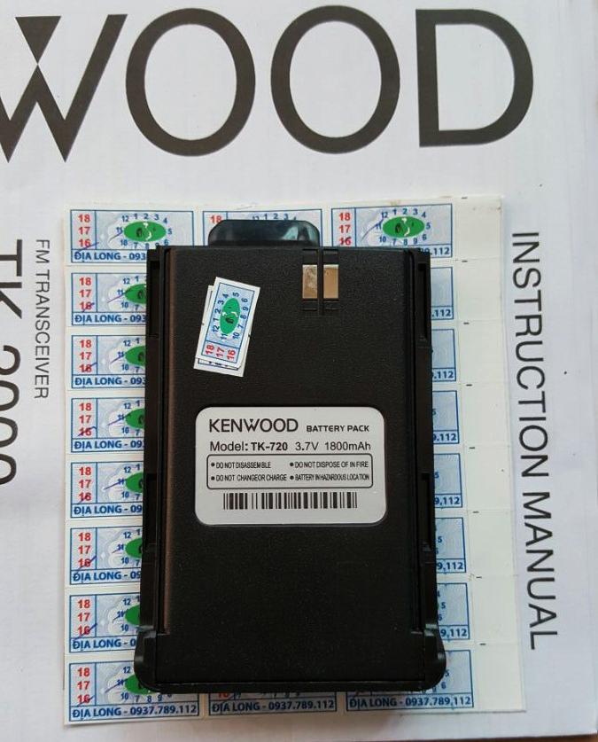 Pin Máy Bộ Đàm Kenwood TK-720