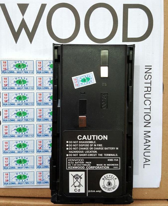Pin Máy Bộ Đàm Kenwood KNB- 15A