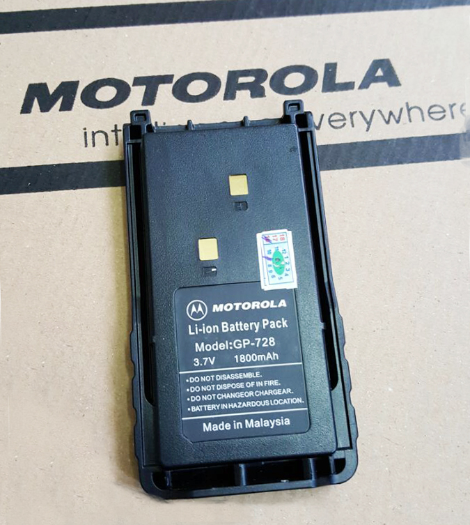 Pin Bộ Đàm Motorola GP 728