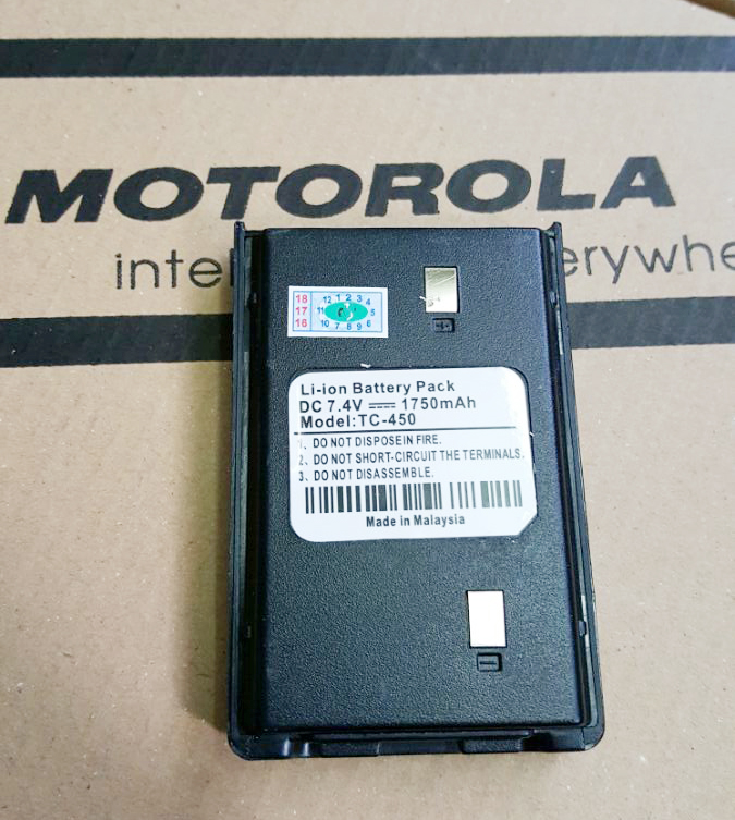 Pin Bộ Đàm Motorola TC-450