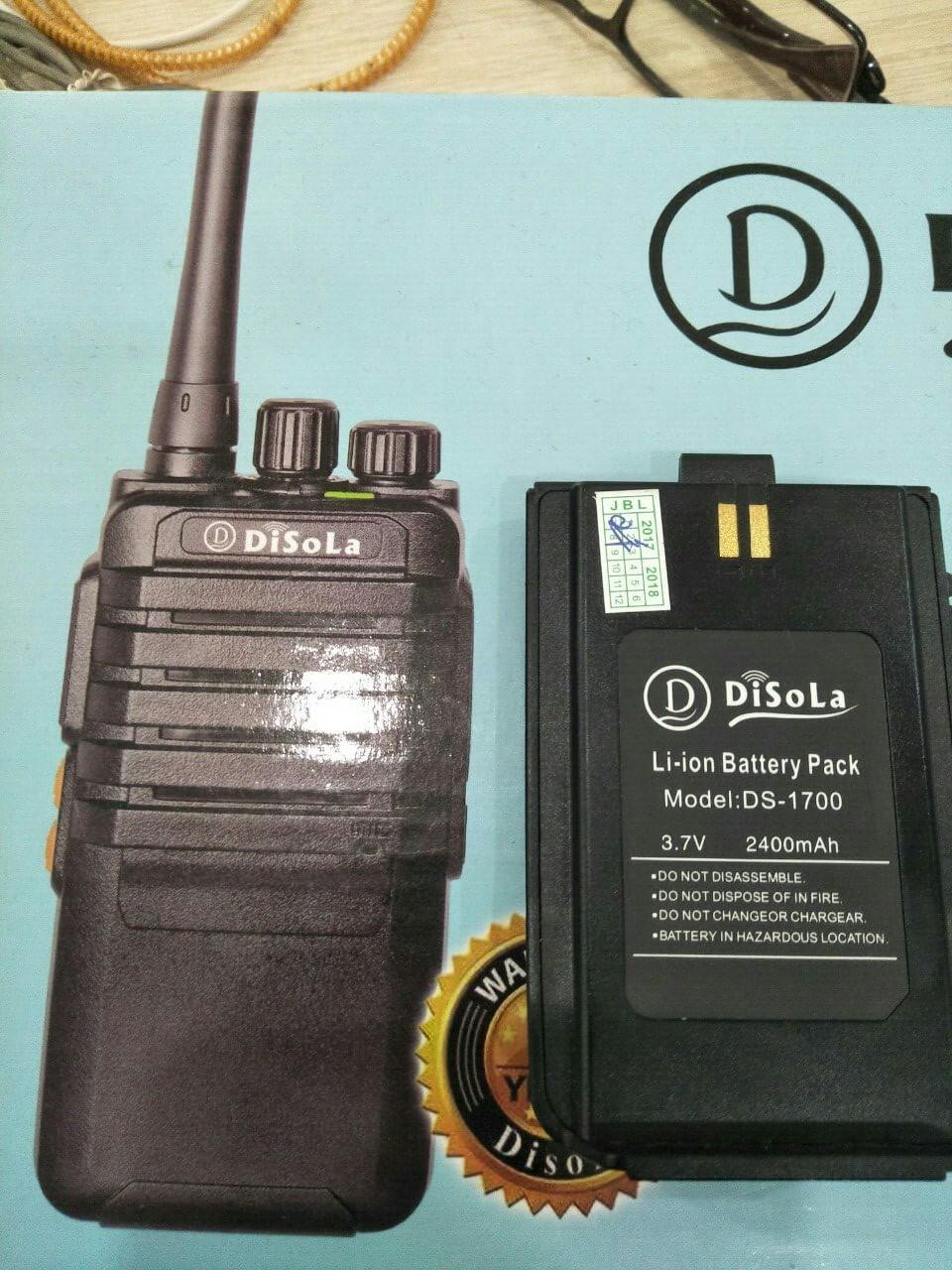 Pin máy bộ đàm Disola DS 1700