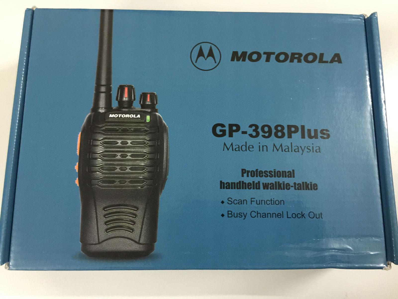 Máy bộ đàm Motorola GP 398 Plus