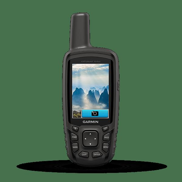 Máy định vị cầm tay GPS Map 64SC Site Survey