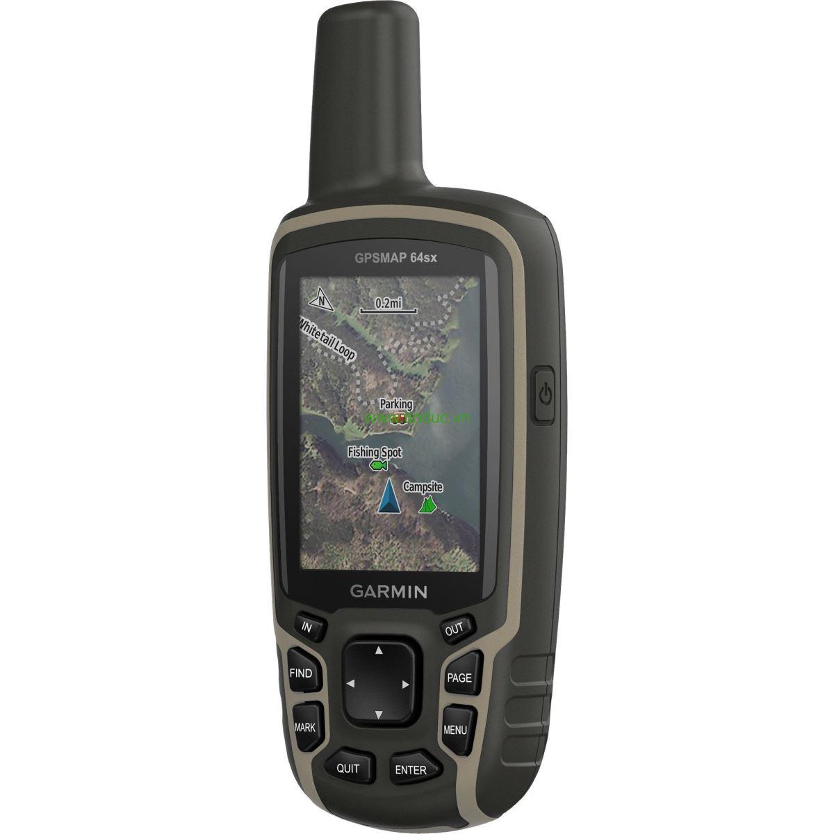 Máy định vị GPS cầm tay Garmin MAP 64SX