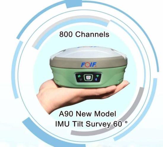 Máy định vị GPS RTK GNSS Unistrong Foif A90